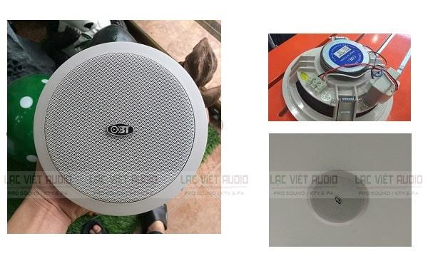 Loa âm trần OBT 605 sử dụng rộng rãi trong cuộc sống