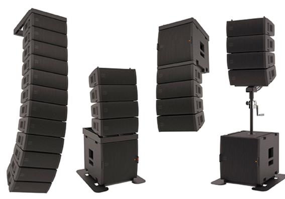 Các sản phẩm loa array hiện đại nhất