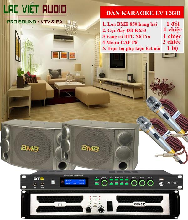 Dàn karaoke gia đình LV-11GD