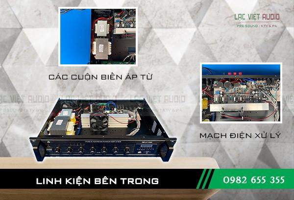 Cấu tạo bên trong Amply DB LP 150F Lạc Việt Audio
