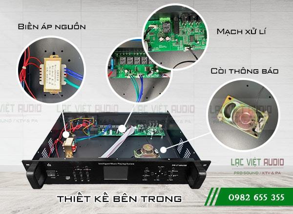 Thiết kế bên trong của Bộ hẹn giờ DB LT 66USB