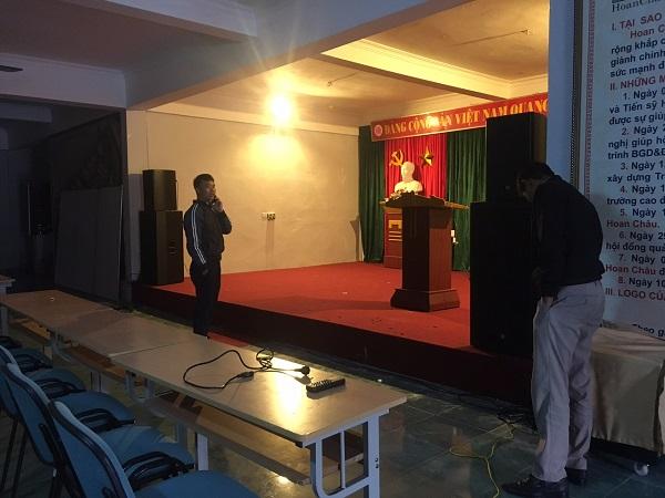Âm thanh hội trường cho trường học trên địa bàn TP. HCM