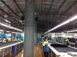 Âm thanh thông báo cho công nhân trong nhà xưởng