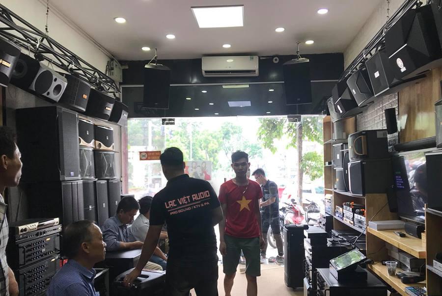 Sắm dàn karaoke chất lượng tại Lạc Việt Audio