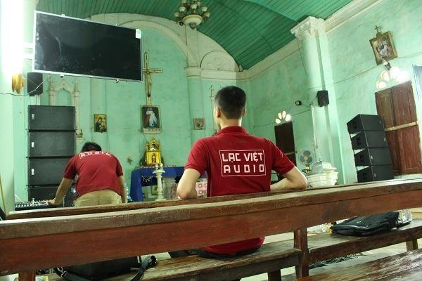 Cung cấp dàn âm thanh hội trường cho nhà thờ Thiên Chú Giáo