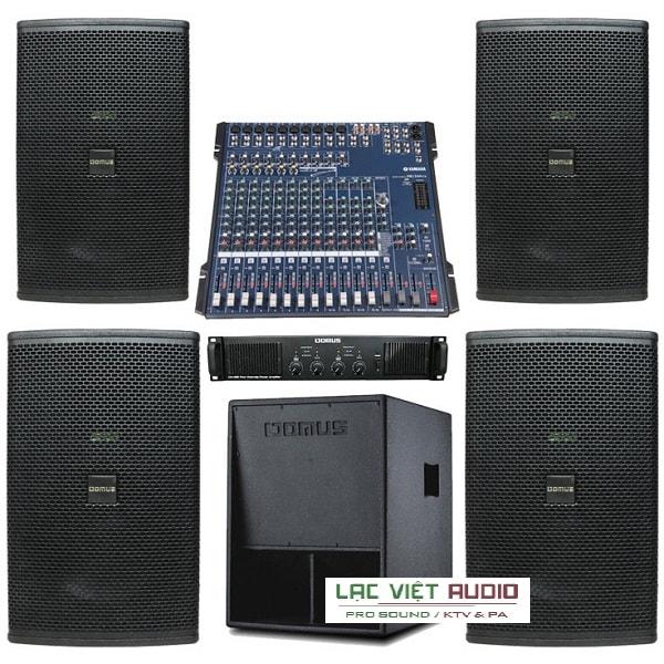 Dàn âm thanh sân khấu mini tại Lạc Việt audio
