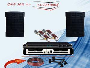 Khuyến mại Combo dàn karaoke LVG-14GD