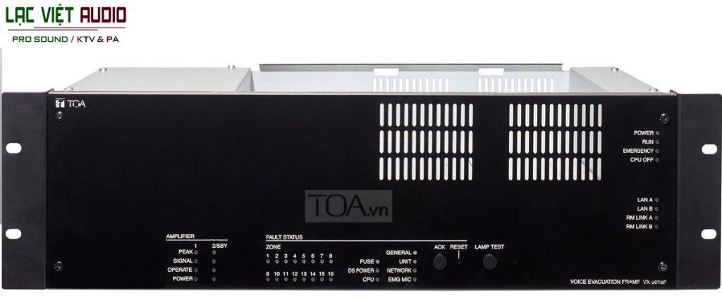 Khung giám sát 16 kênh TOA VX-3016F