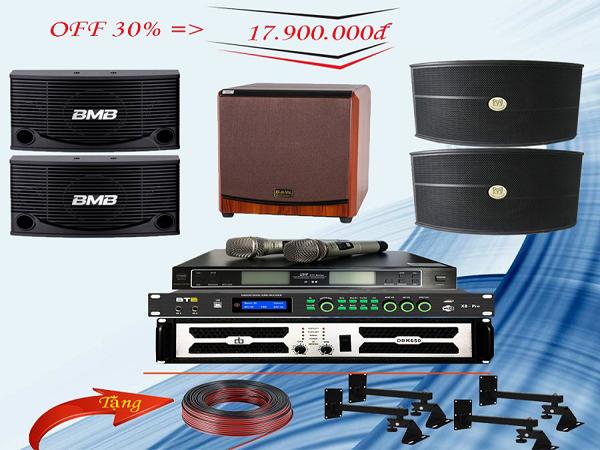 Trọn bộ dàn karaoke gia đình giá rẻ LV- 15GD