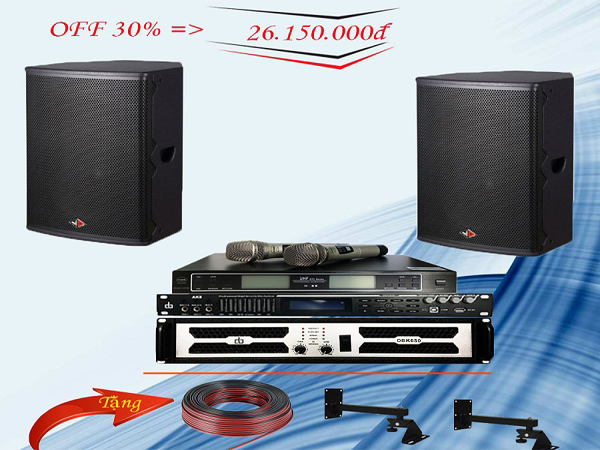 Combo dàn karaoke LV-17GD đẳng cấp