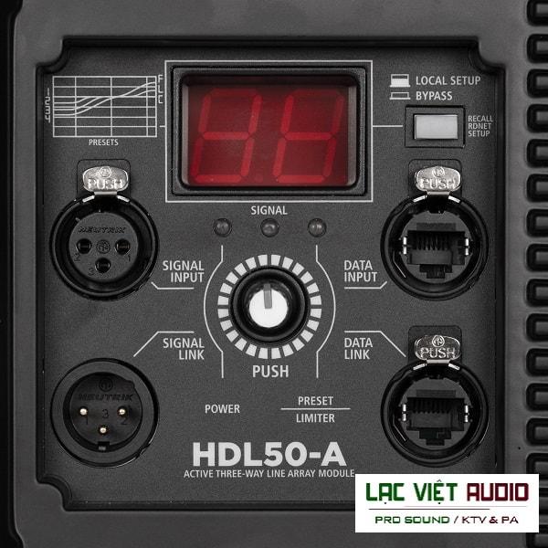 Mặt sau Loa array RCF HDL 50-A