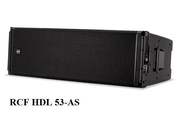 Mặt trước Loa array RCF HDL 53-AS