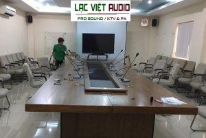 Hệ thống âm thanh phòng họp cho ủy ban dân dân Quận 12 - TP.HCM