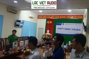 Hệ thống âm thanh hội thảo DB cho VNPT Ninh Thuận
