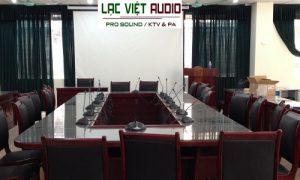 Hệ thống âm thanh phòng họp Bosch cho công ty Hiteck Việt Nam