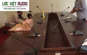 Hệ thống âm thanh hội thảo TOA cho Viện Nghiên Cứu Hà Nội