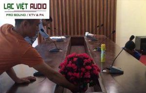 Hệ thống âm thanh hội thảo TOA chuyên nghiệp