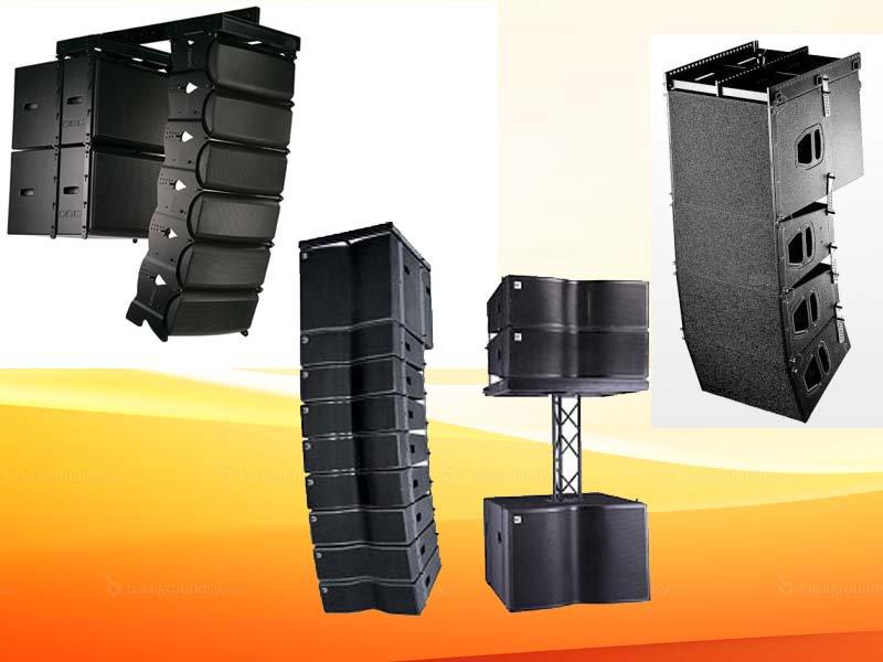 Các mô hình loa array tiêu chuẩn