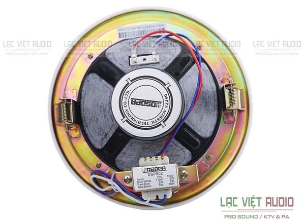 Loa âm trần 10W DSP802 có nhiều tính năng ưu việt