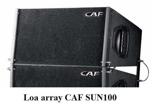 Loa array CAF SUN100 sử dụng nam châm Neo
