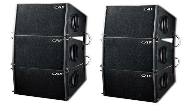 Loa array CAF SUN100 thiết kế nhỏ gọn