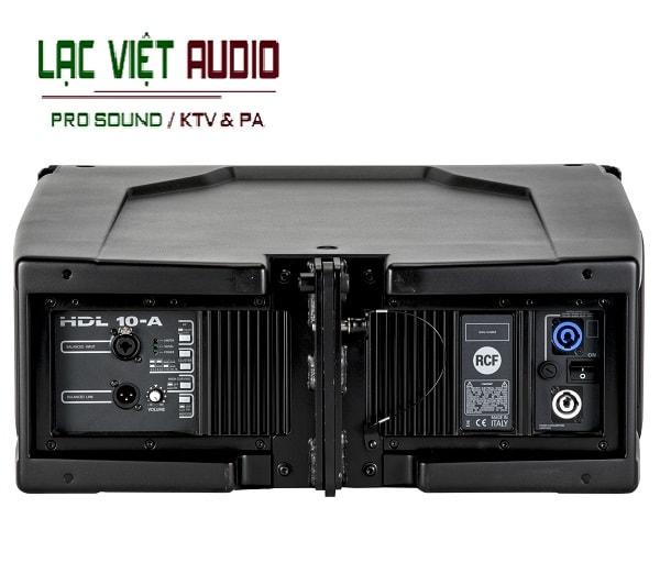 Mặt sau Loa array RCF HDL 10-A