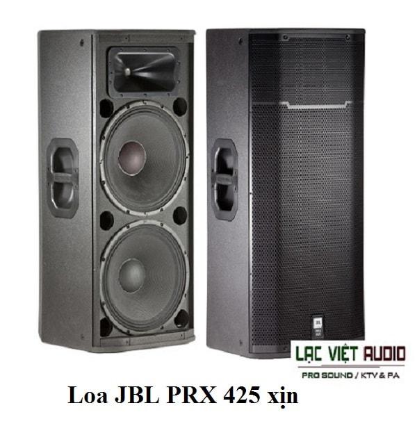 Loa JBL PRX 425 cho âm thanh sân khấu trong hoặc ngoài trời