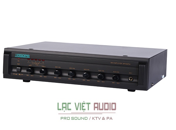 Amplifier liền mixer MP300piii