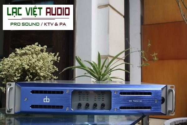 Cục đẩy 4 kênh DB TMD4130 nguồn xung - thiết bị âm thanh sân khấu đáng mua