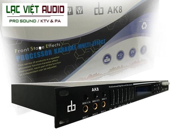 Vang số dB AK8 - thiết bị âm thanh sân khấu chính hãng, chuyên nghiệp