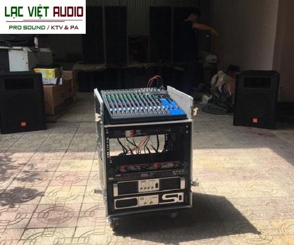 Công ty TNHH 1 thành viên âm thanh Lạc Việt tự hào là đơn vị cung cấp âm thanh cho anh Quang