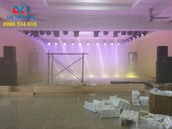 Dự án âm thanh sân khấu cho bệnh viện Hùng Vương- Phú Thọ