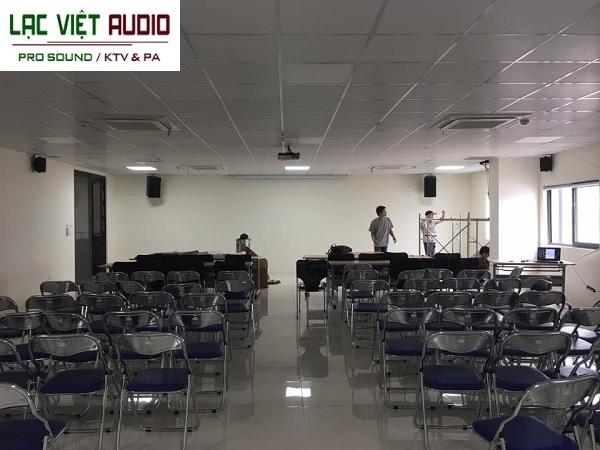Dự án âm thanh hội trường, hội nghị cho công ty dụng cụ An Mi