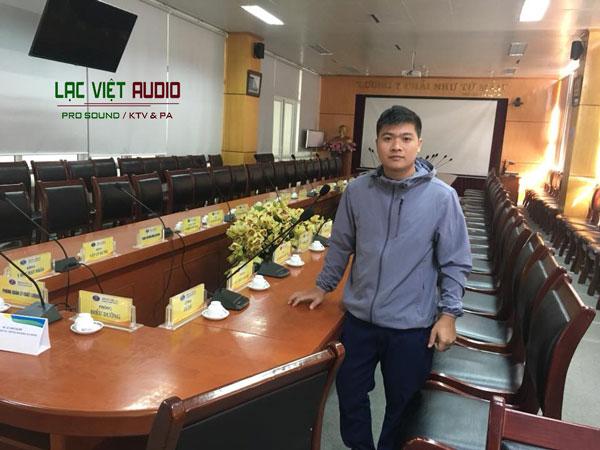 Lắp đặt hệ thống âm thanh phòng họp Bệnh viện Bưu Điện