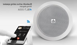 Loa âm trần Bluetooth DB BLT-255A