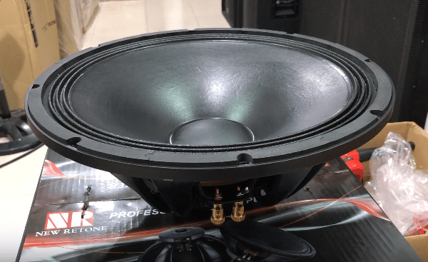 Bass loa Veruna chất lượng cao, sử dụng nam châm OriFanCol chất lượng cao