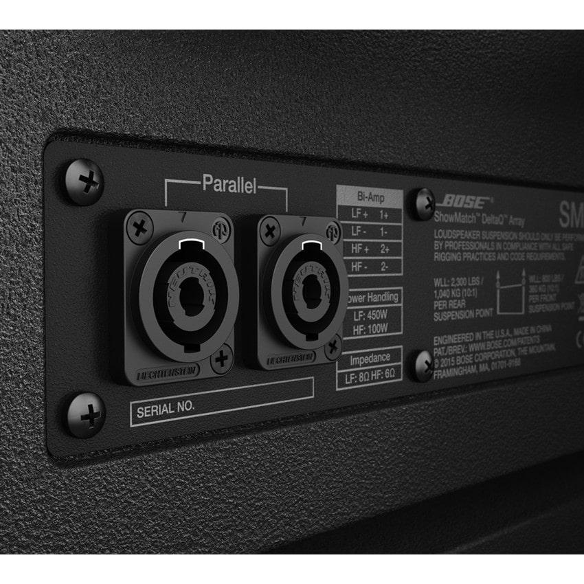 Cổng kết nối Loa Array Bose Professional ShowMatch DeltaQ SM10
