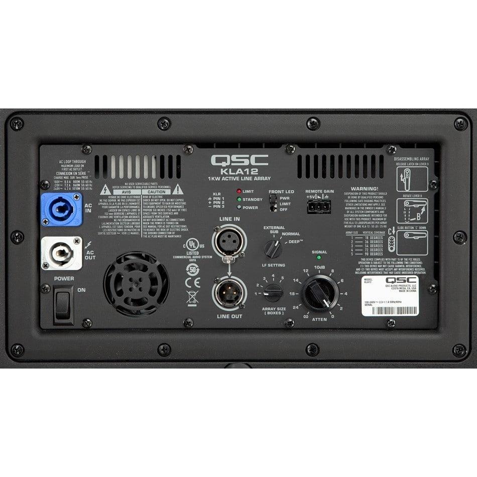Mặt sau Loa Array QSC KLS12