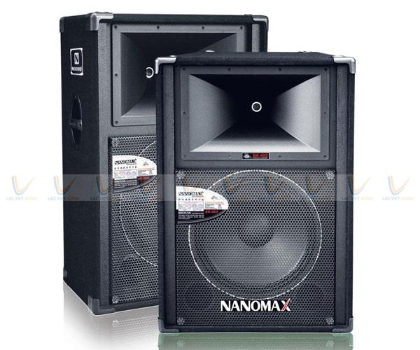 Loa Nanomax SK 402 có giá thành hợp lý, phù hợp với túi tiền của người Việt