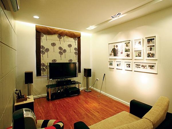 Một căn phòng được bố trí loa karaoke cực chuẩn và đúng cách
