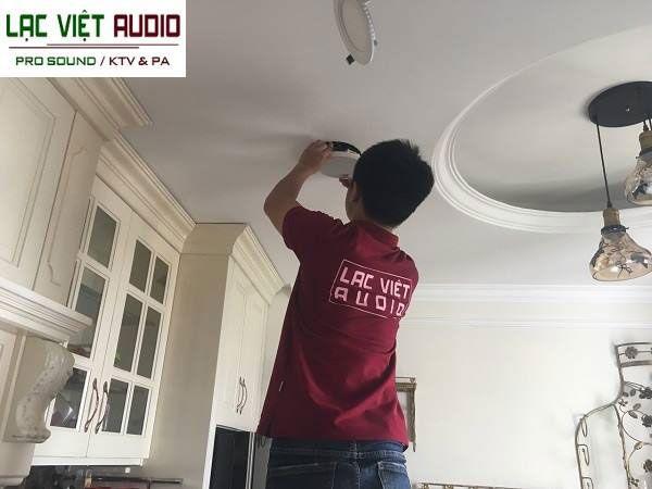 Dự án loa âm trần tai Lạc Việt Audio