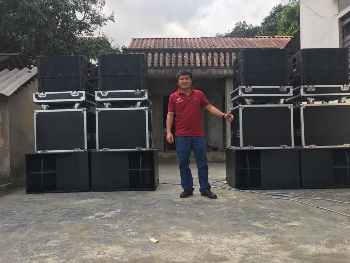 Dự án loa sân khấu setup bởi Công ty TNHH 1 thành viên âm thanh Lạc Việt