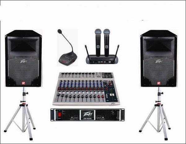 Hệ thống âm thanh sân khấu ngoài trời