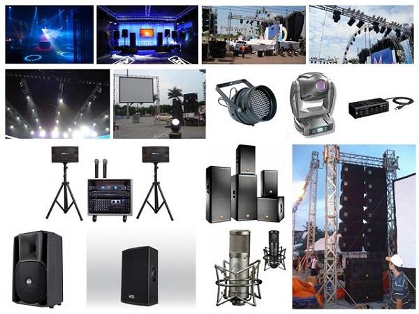 Hệ thống âm thanh sân khấu trong nhà