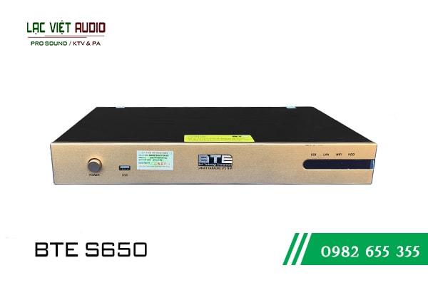 Giới thiệu về sản phẩm Đầu karaoke BTE S650 4TB