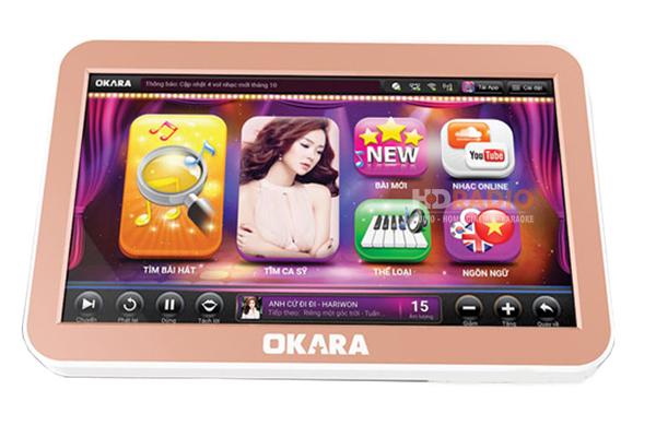 Đầu karaoke liền màn hình cảm ứng Okara H10