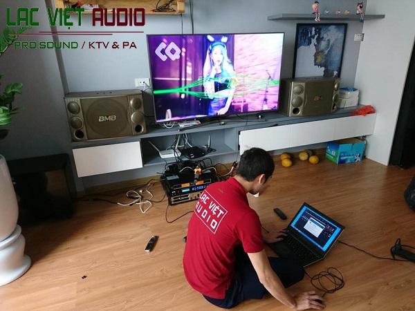 Dự án lắp đặt phòng karaoke tại Hà Đông-Hà Nội