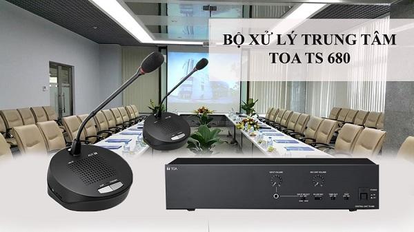 bộ điều khiển trung tâm TOA TS-680