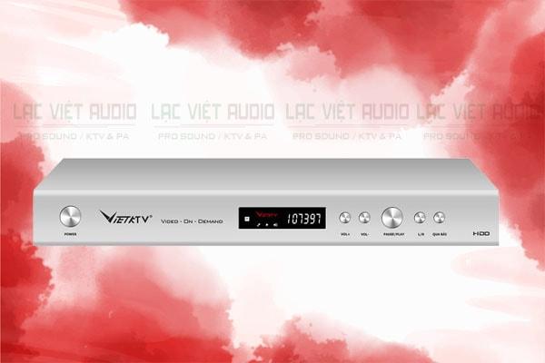 Thiết kế của sản phẩm Đầu karaoke ViệtKTV HD Pro 3TB