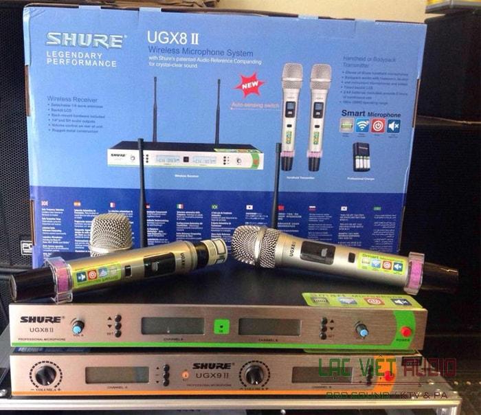 Trọn bộ SHURE UGX 8 II